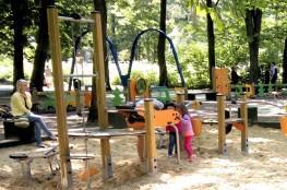 Ustroń Atrakcja Sala | plac zabaw Park Kościuszki