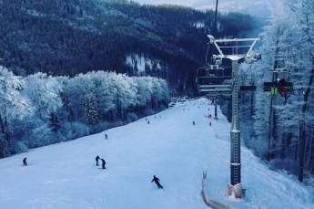 Ustroń Atrakcja Stacja narciarska Poniwiec Mała Czantoria